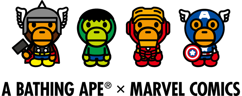 A BATHING APE® × MARVEL COMICS