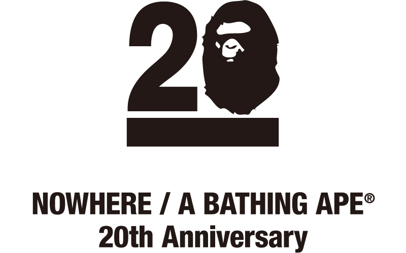 NOWHERE / A BATHING APE® 20th Anniversary