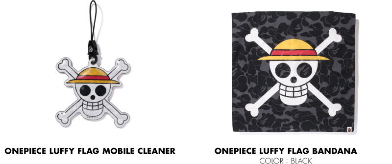 ONEPIECE LUFFY FLAG MOBILE CLEANER ONEPIECE LUFFY FLAG BANDANA